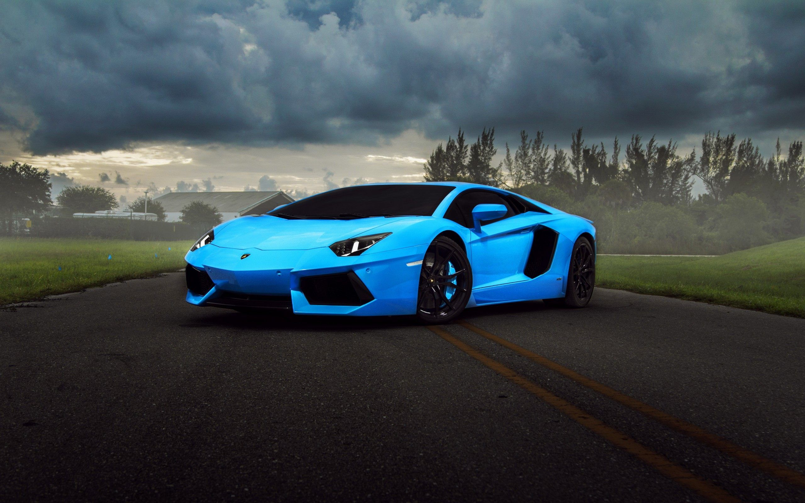 31 Ice Blue Lambo Wallpapers On Wallpapersafari