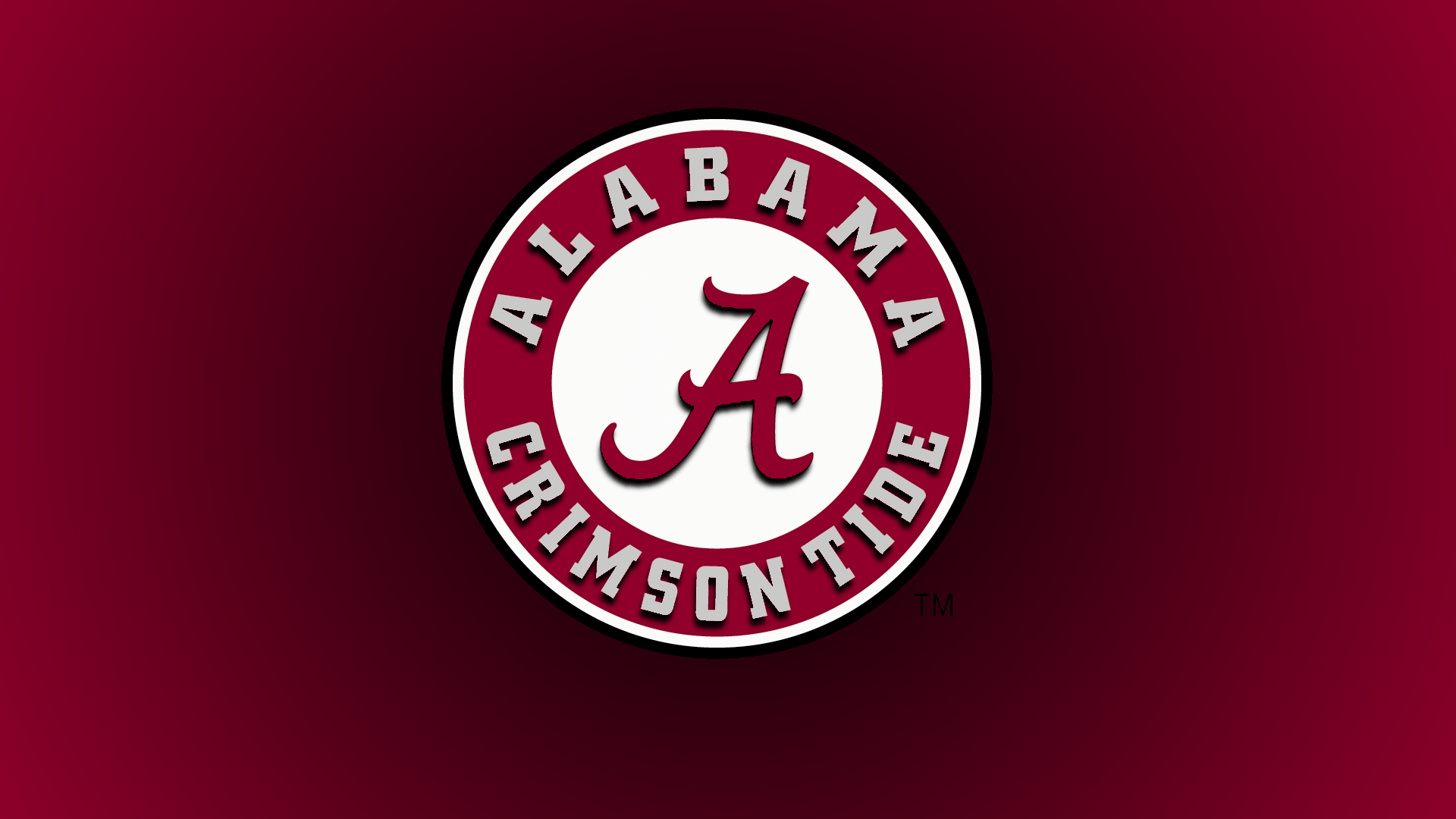 Gallery of crimson alabama roll tide logo 1920x1080