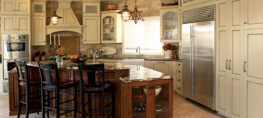 Cabinet Painting and Cabinet Refinishing 1000x450