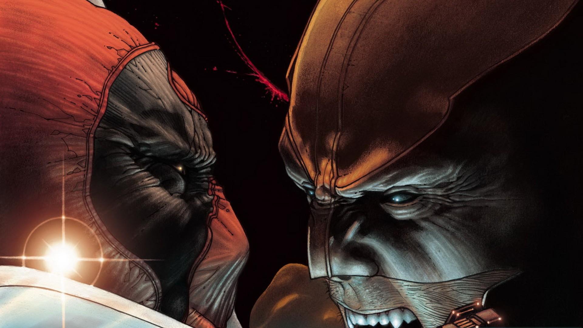 Wolverine Vs Deadpool HD Wallpaper Background Image 1920x1080 1920x1080