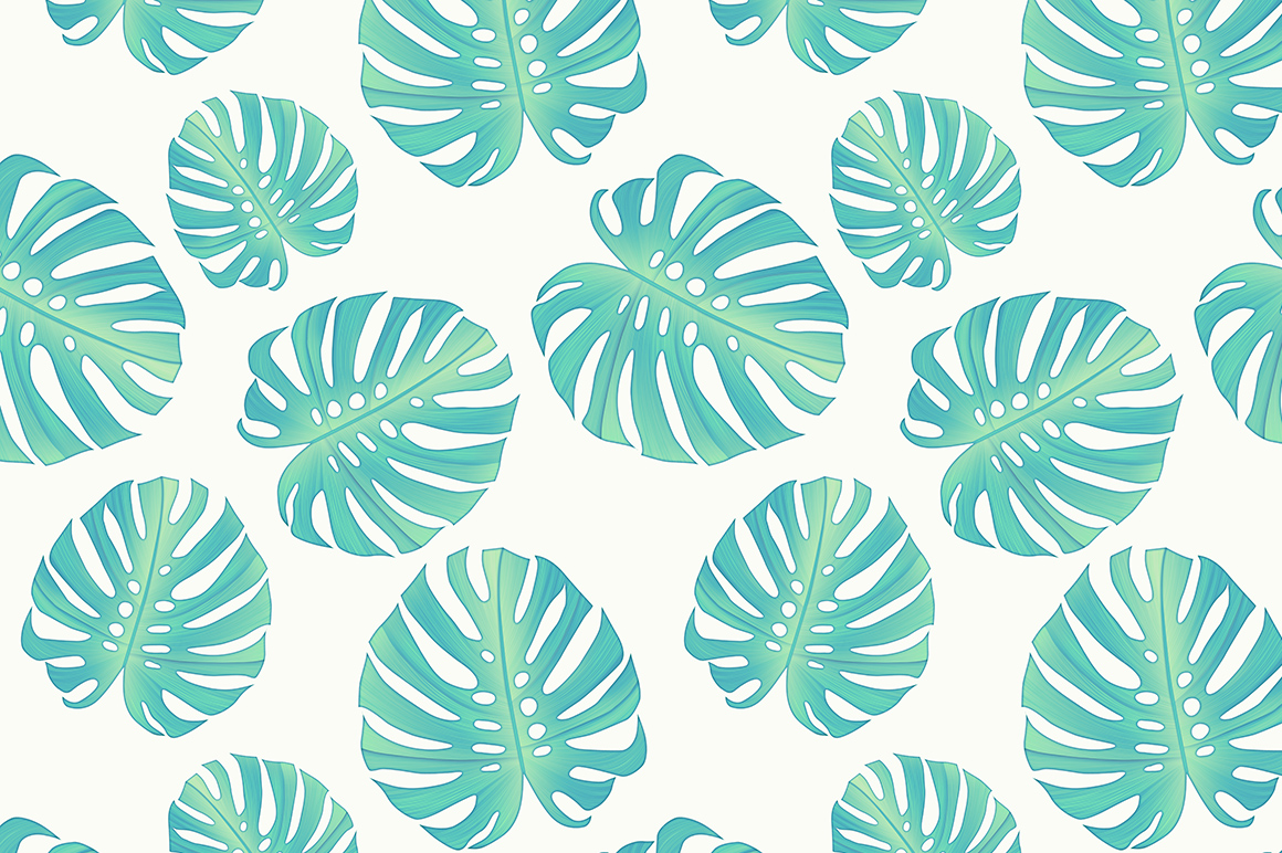 Tropical Palm Leaves Tumblr Monstera leaves seamless 1160x772