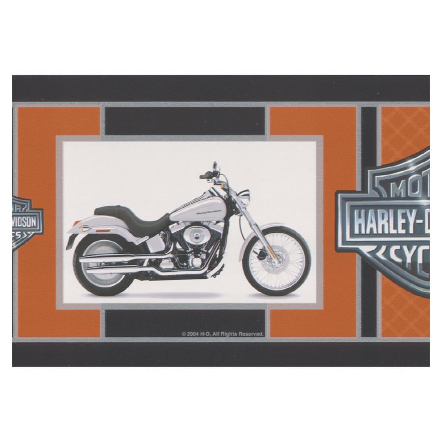 Shop Brewster Wallcovering Harley Davidson Bikes On This Border at 900x900