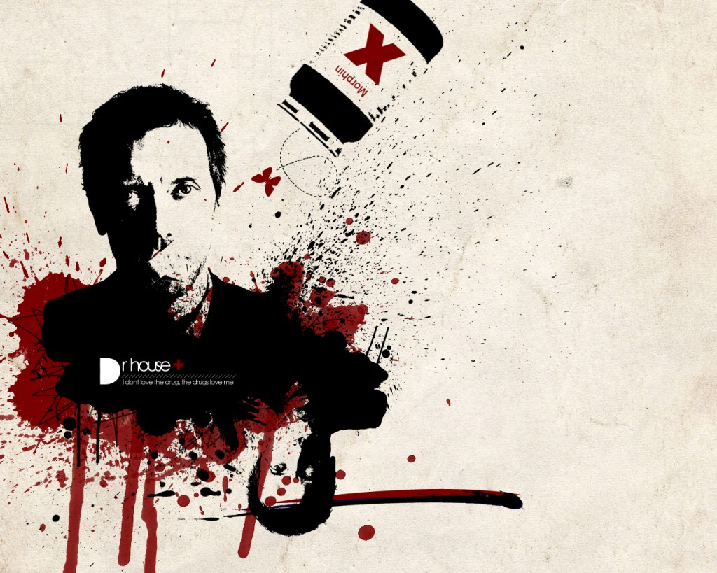 House MD HD Wallpaper   Wallpaper Hd 3D 1024x819