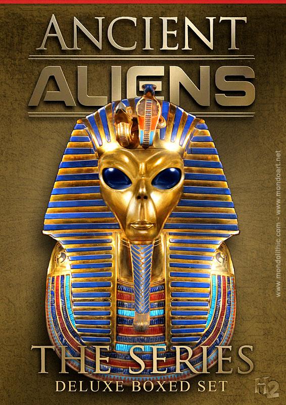 Ancient 10 Card Tarot Spread Mat: Ancient Aliens Wallpaper