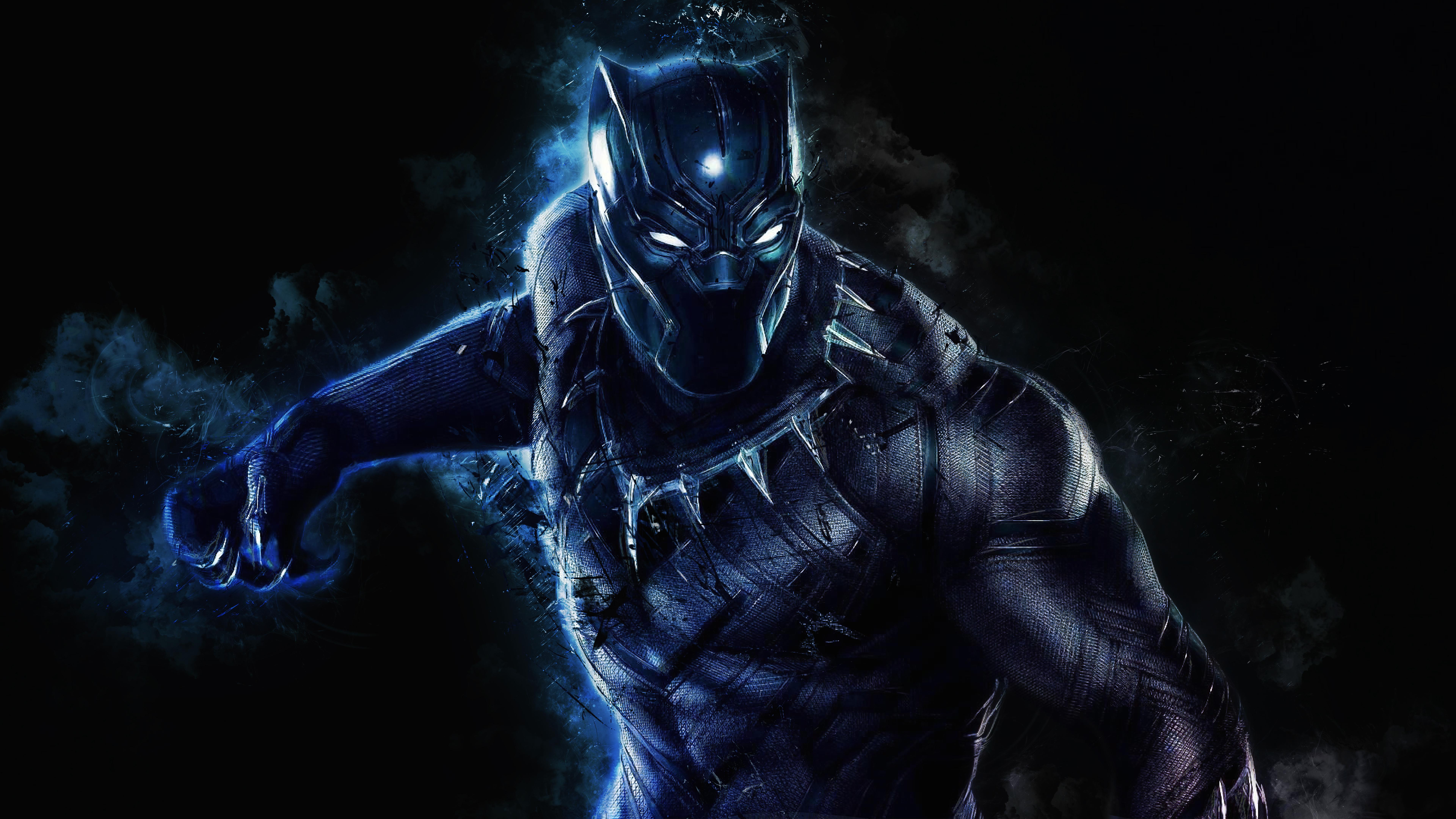 4K Black Panther Wallpaper HD 7680x4320