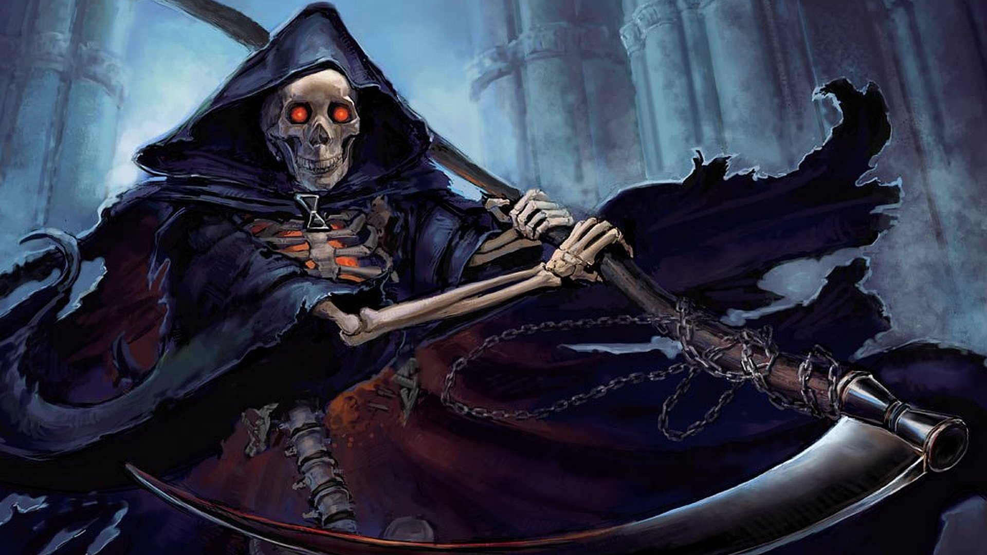 Scary Grim Reaper Wallpaper Hd Grim reaper wallpaper 1920x1080