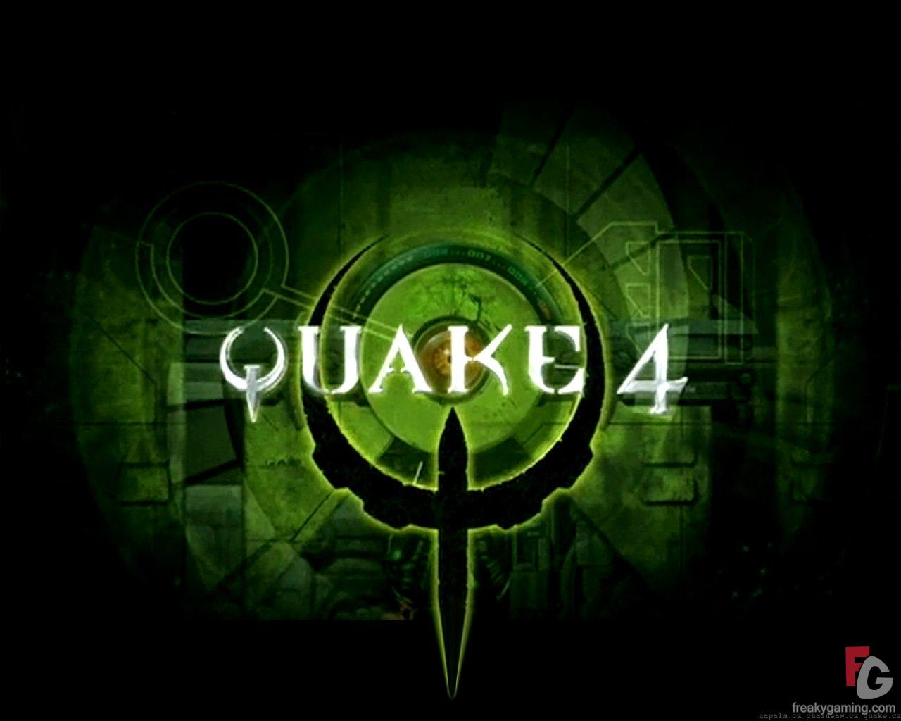 quake 4 logo wallpaper 1280x1024