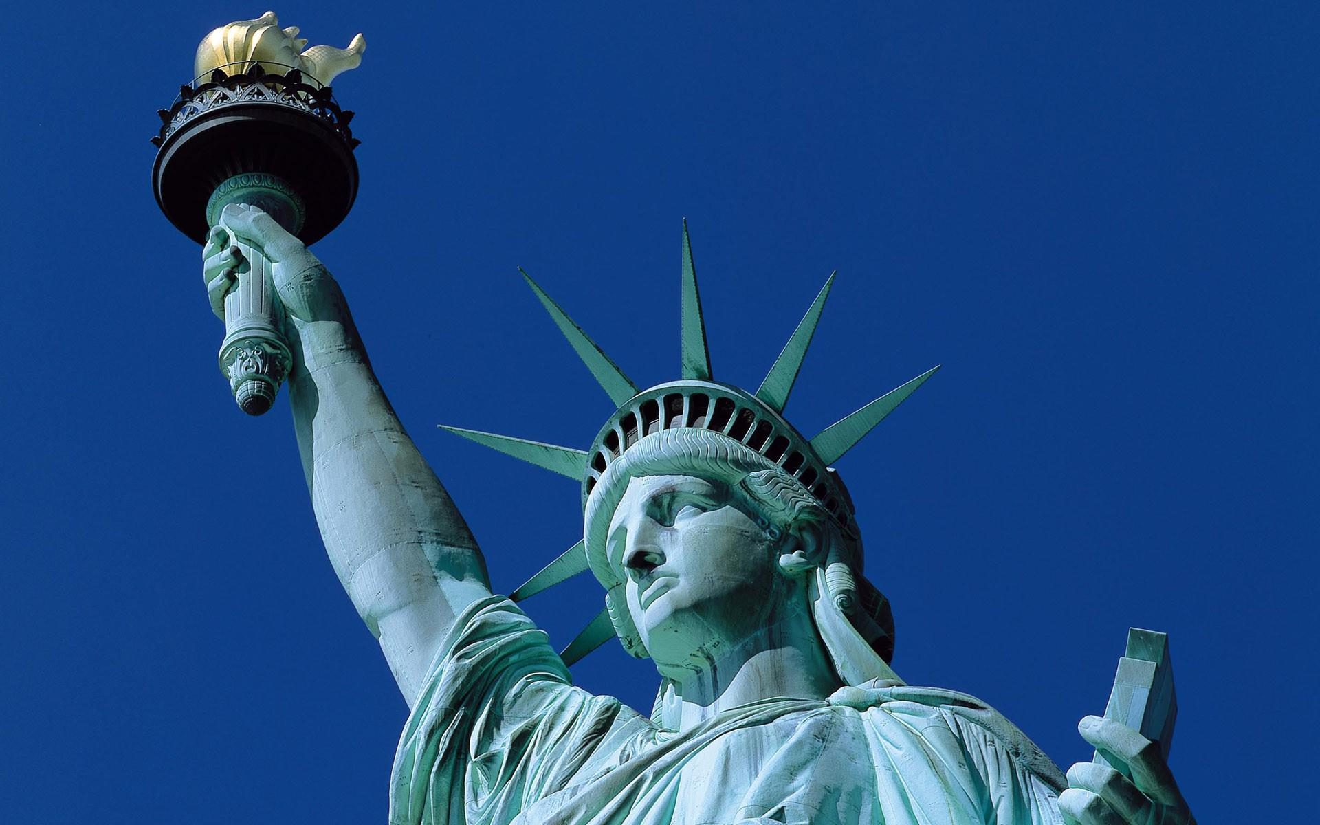 Statue Of Liberty NY Harbor Wallpaper   Travel HD Wallpapers 1920x1200
