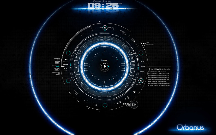 live wallpaper clock for pc