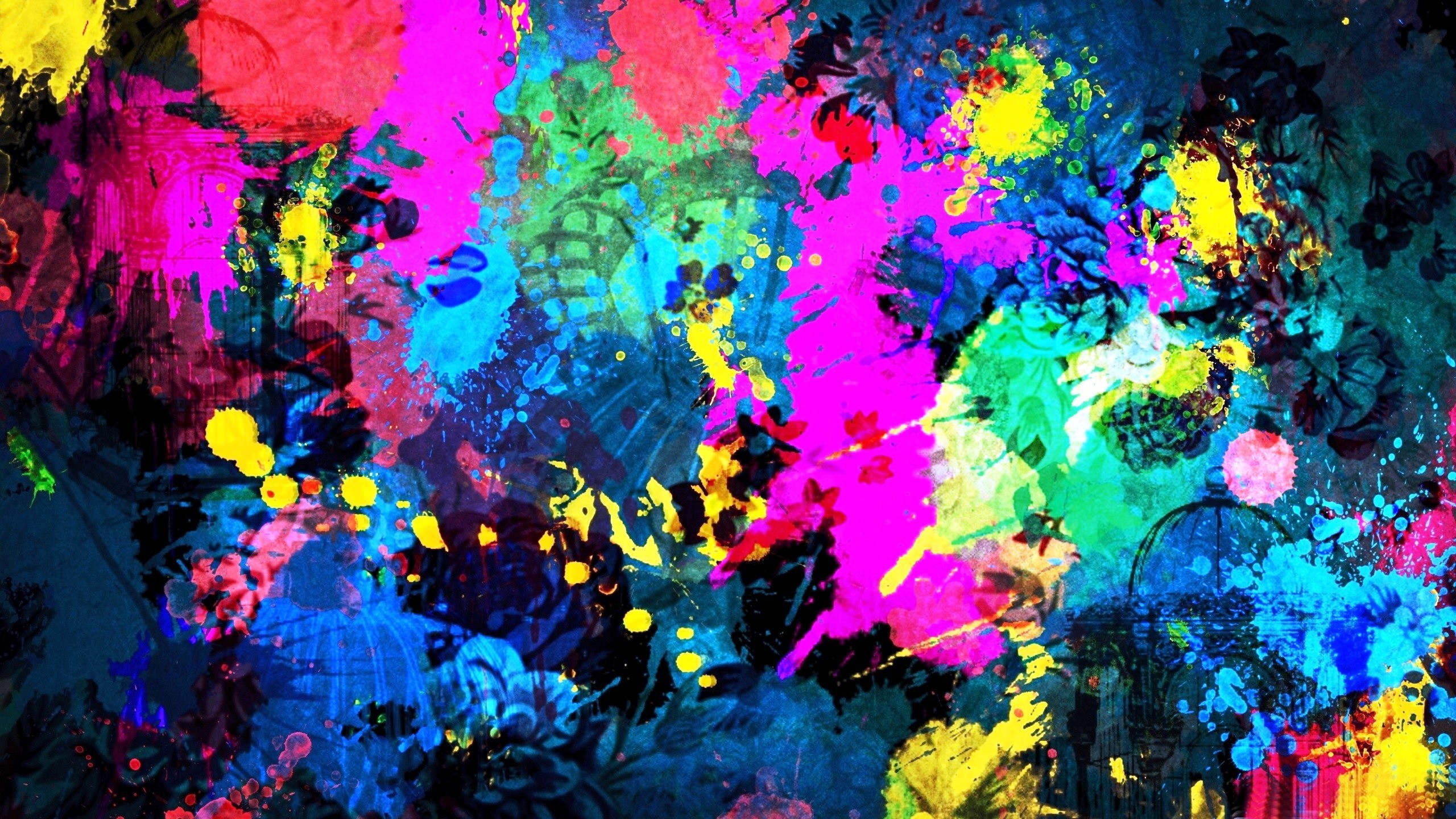 Download HD Abstract Art Wallpaper Widescreen 2 pictures in high 2560x1440