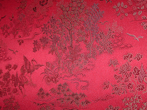 Chinese silk wallpaper 2 Flickr   Photo Sharing 500x375