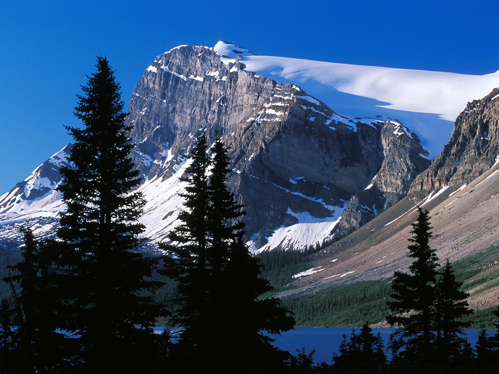 Mountain Peak Canada Wallpapers HD Wallpapers 1600x1200