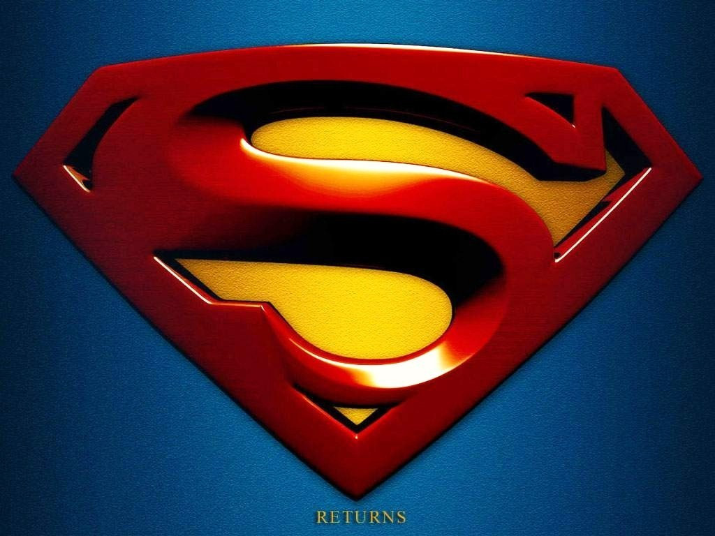 Superman Logo wallpaper 1024x768