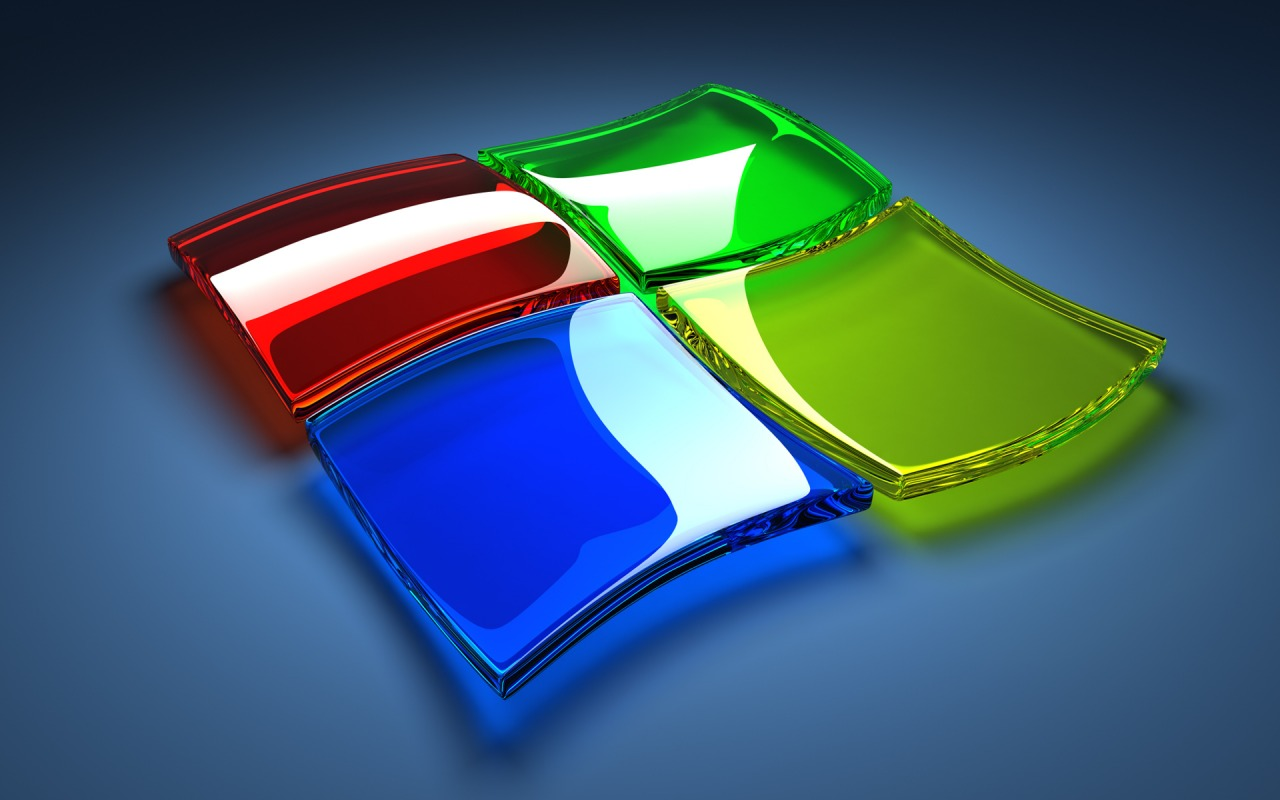 3D Windows Logo Wallpapers Pictures 1280x800