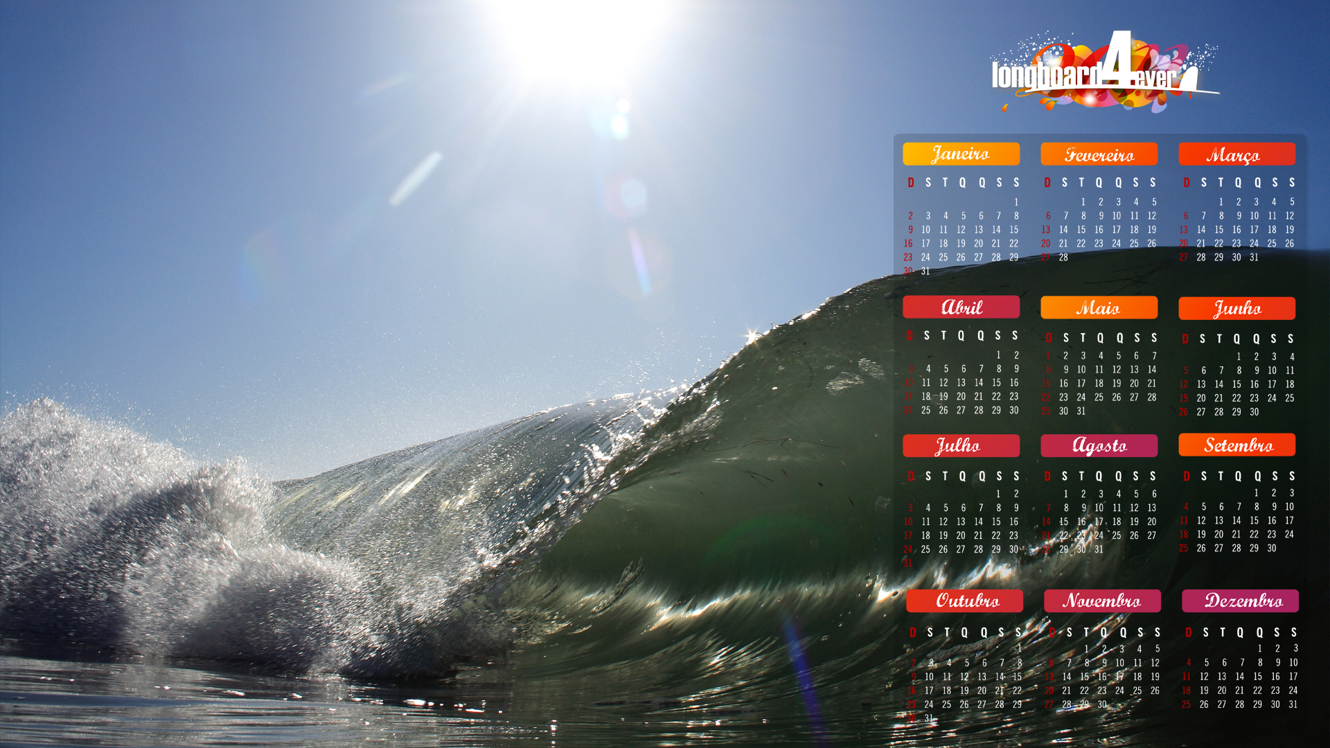 Wallpapers Longboard Bic Surf 1920x1080