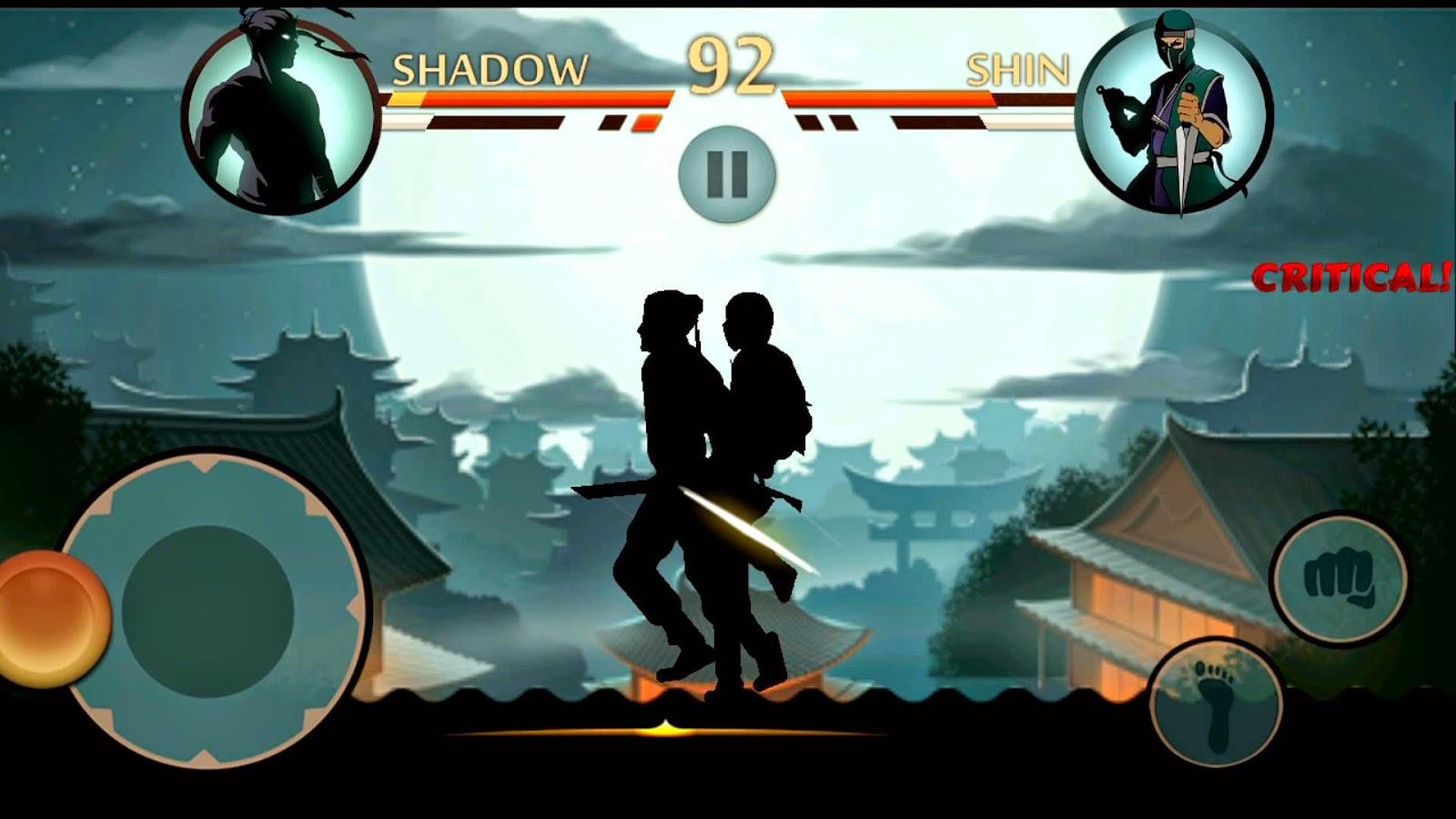 Ninja Vs Samurai Fight Shadow Fight Wallpaper...