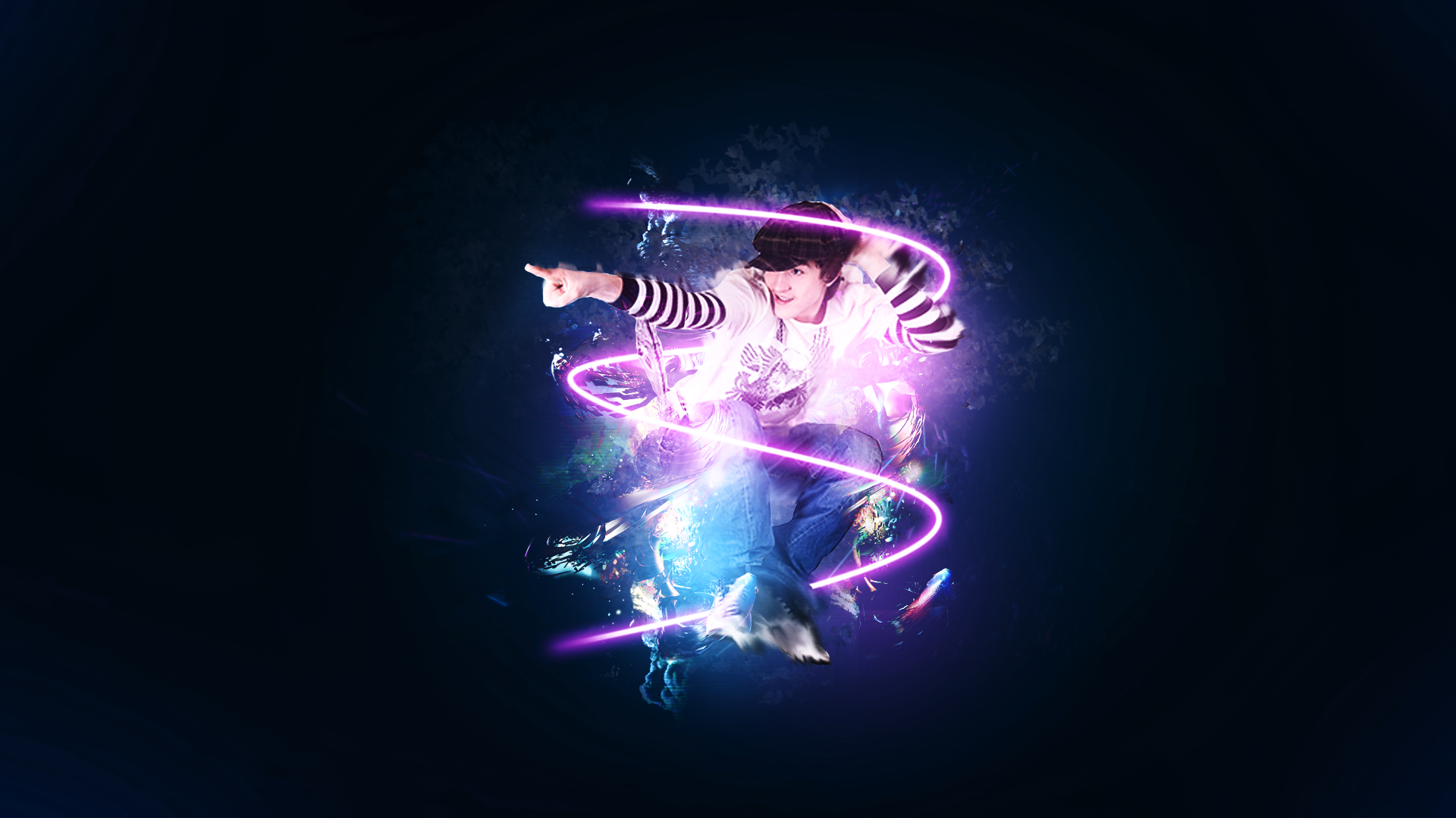 Wallpaper hip hop dancer by StylishArt94 1920x1080