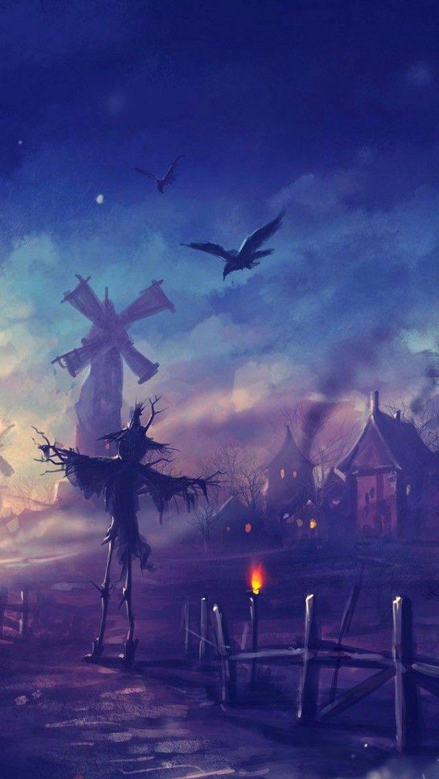 Halloween Night   Spooky iPhone wallpapers mobile9 Wallpaper in 640x1136