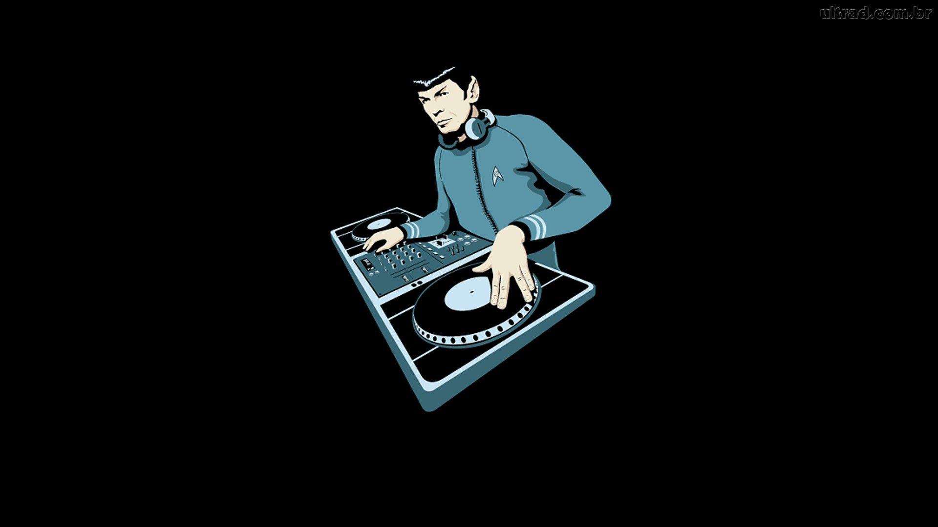 StuffZilla DJ Spock Illustration 1920x1080