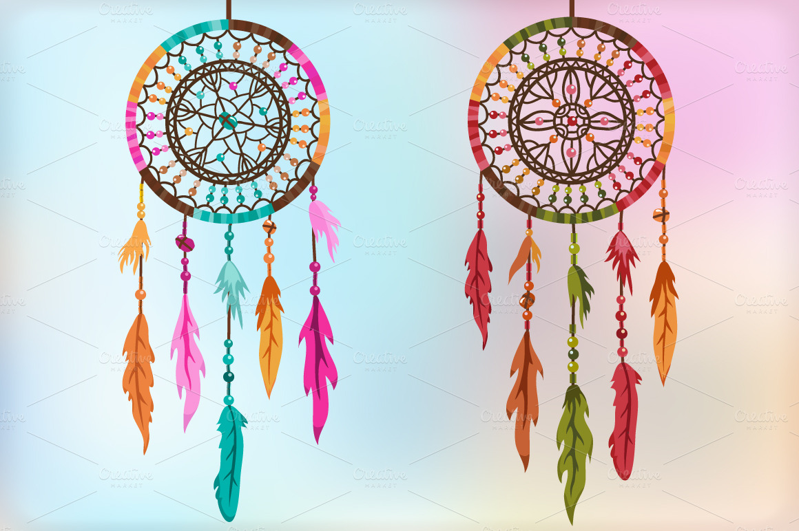 Colorful Dream Catcher Wallpaper - WallpaperSafari