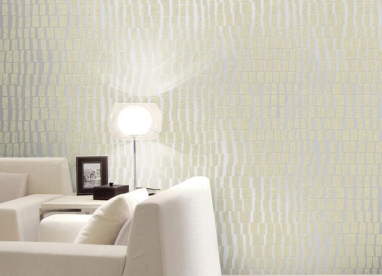 3D Silver Embossed Modern wallpaper Geometric Flocking Patterns Sofa 786x568