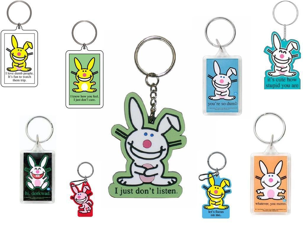 Happy Bunny Keychains Wallpaper   Keychains Wallpaper 2554294 1024x768
