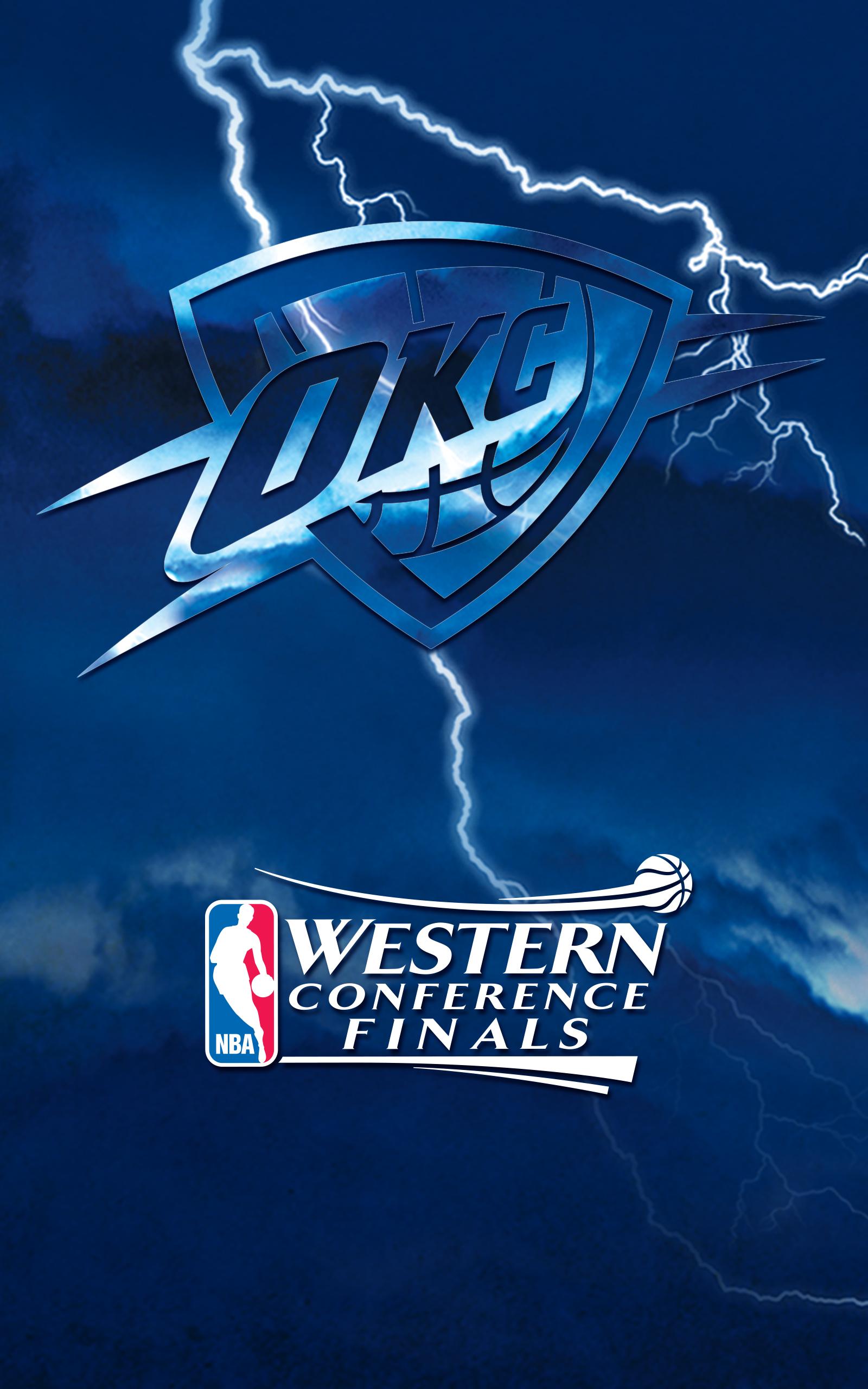 Thunder Playoffs Wallpapers Oklahoma City Thunder 1600x2560
