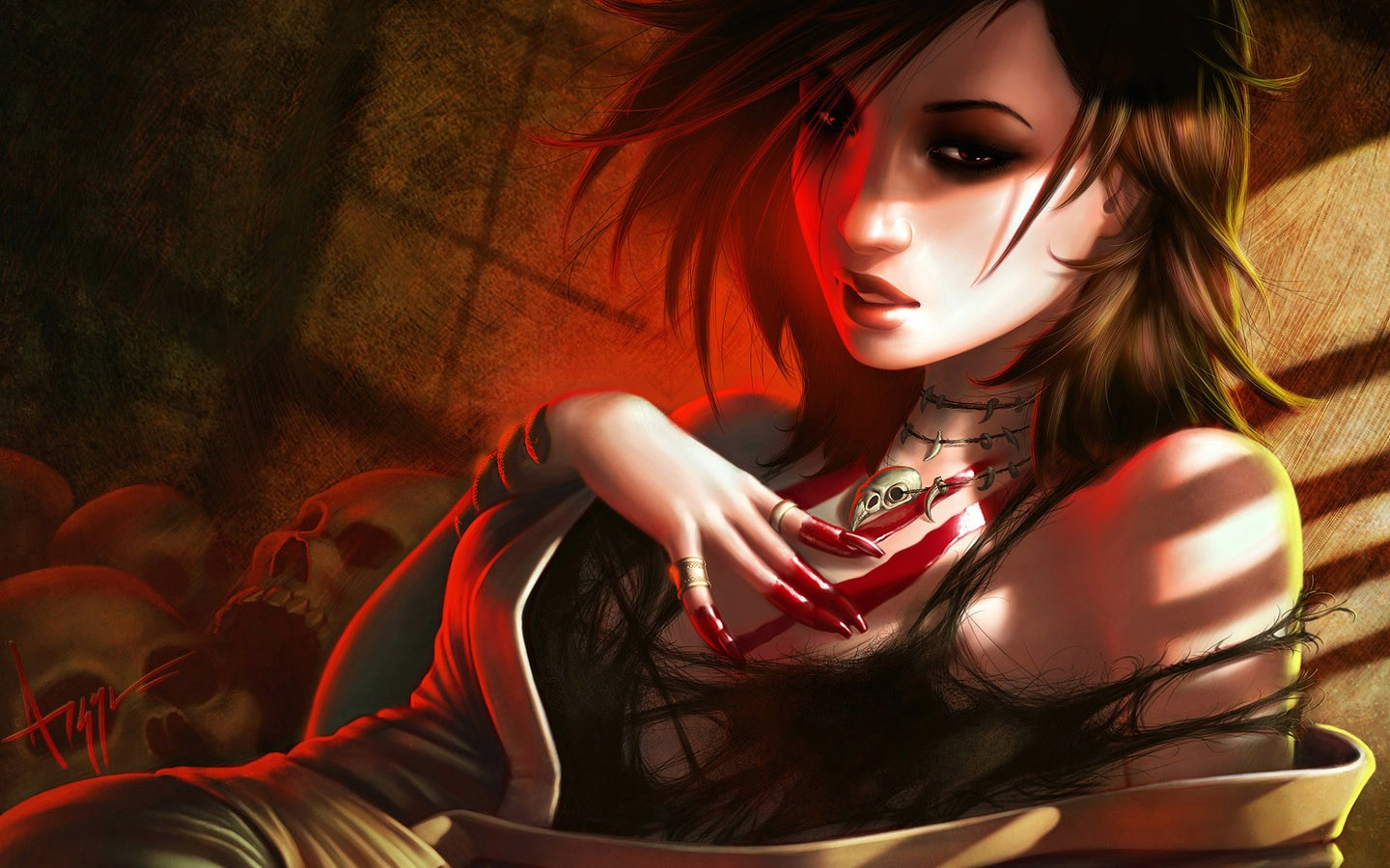 Dark Wallpapers Gothic Wallpapers Fantasy Girls HD Wallpapers 1440x900