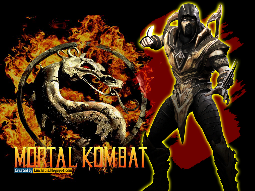 scorpion mortal kombat wallpaper 2 scorpion mortal kombat wallpaper 3 1024x768