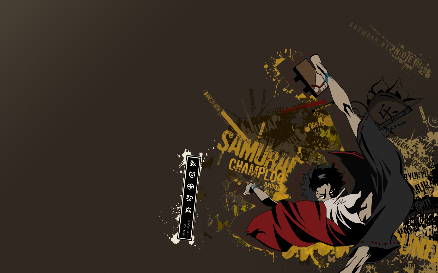 Samurai Champloo Wallpaper and Background 1680x1050 ID 1680x1050