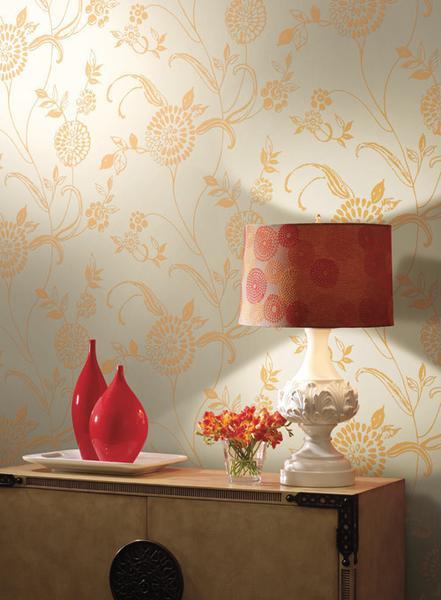 Fontaine Textured Wallpaper design by Ronald Redding BURKE DECOR 441x600