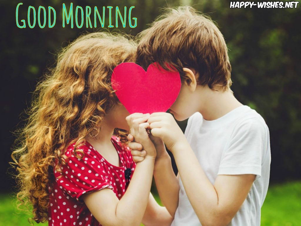 Good Morning Wishes With Kiss Images 1024x768