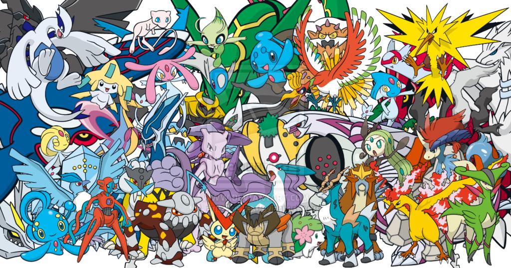 All Legendary Pokemon Wallpapers 1024x537