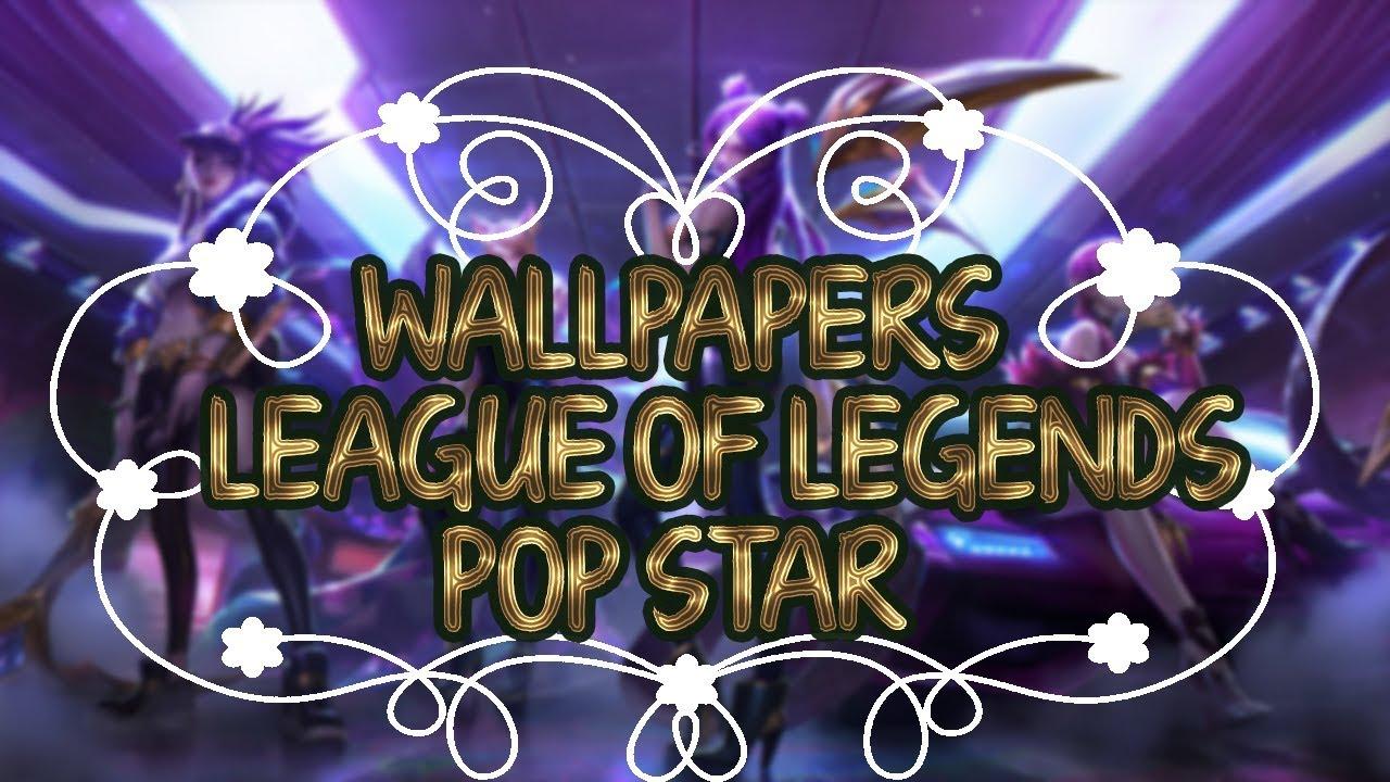 Wallpapers League of Legends KDA Pop Stars 1280x720