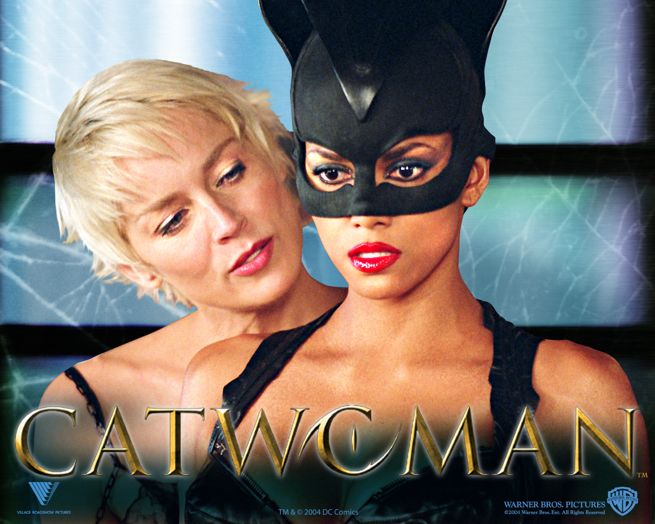 foto catwoman wallpaper halle berry patience phillips catwoman 1280x1024