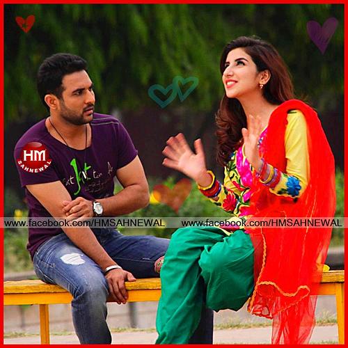 Punjabi Couple Romantic Wallpapers I Love You Kiss Miss Picture Photos 500x500