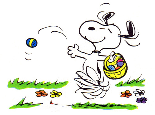 Peanuts Snoopy Spring Pictures 500x371