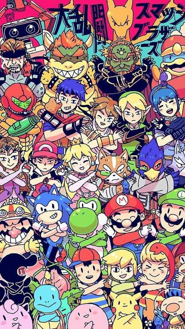 Video Game Characters iPhone 5 Wallpaper 640x1136 640x1136