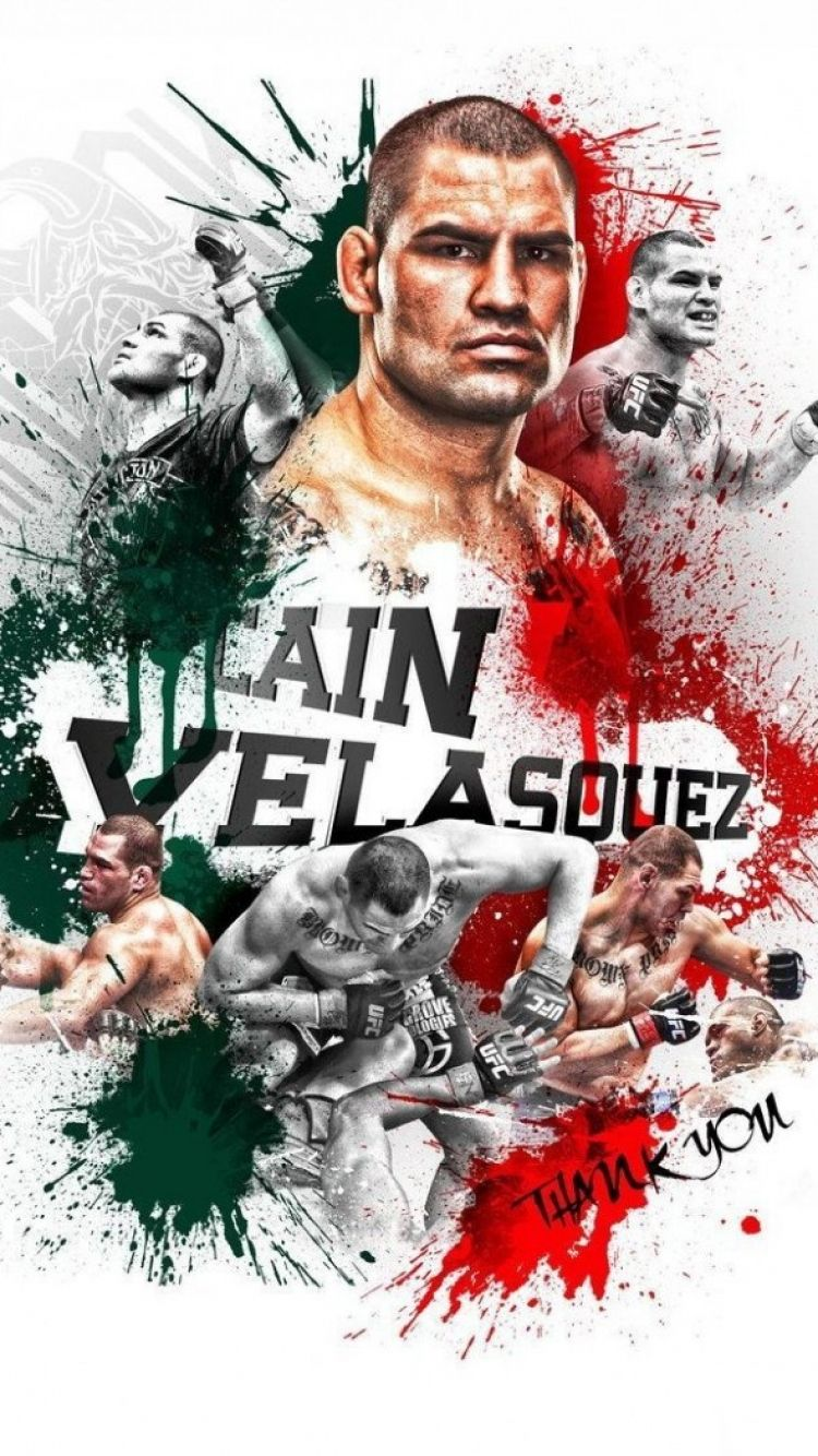 Cain Velasquez Wallpaper UFC Cain velasquez Ufc fighters Ufc 750x1334