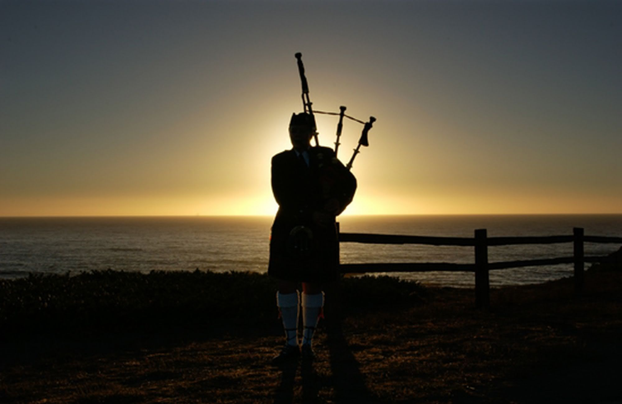 At sunset Happily Ever After in 2019 Scottish bagpipes 2000x1301
