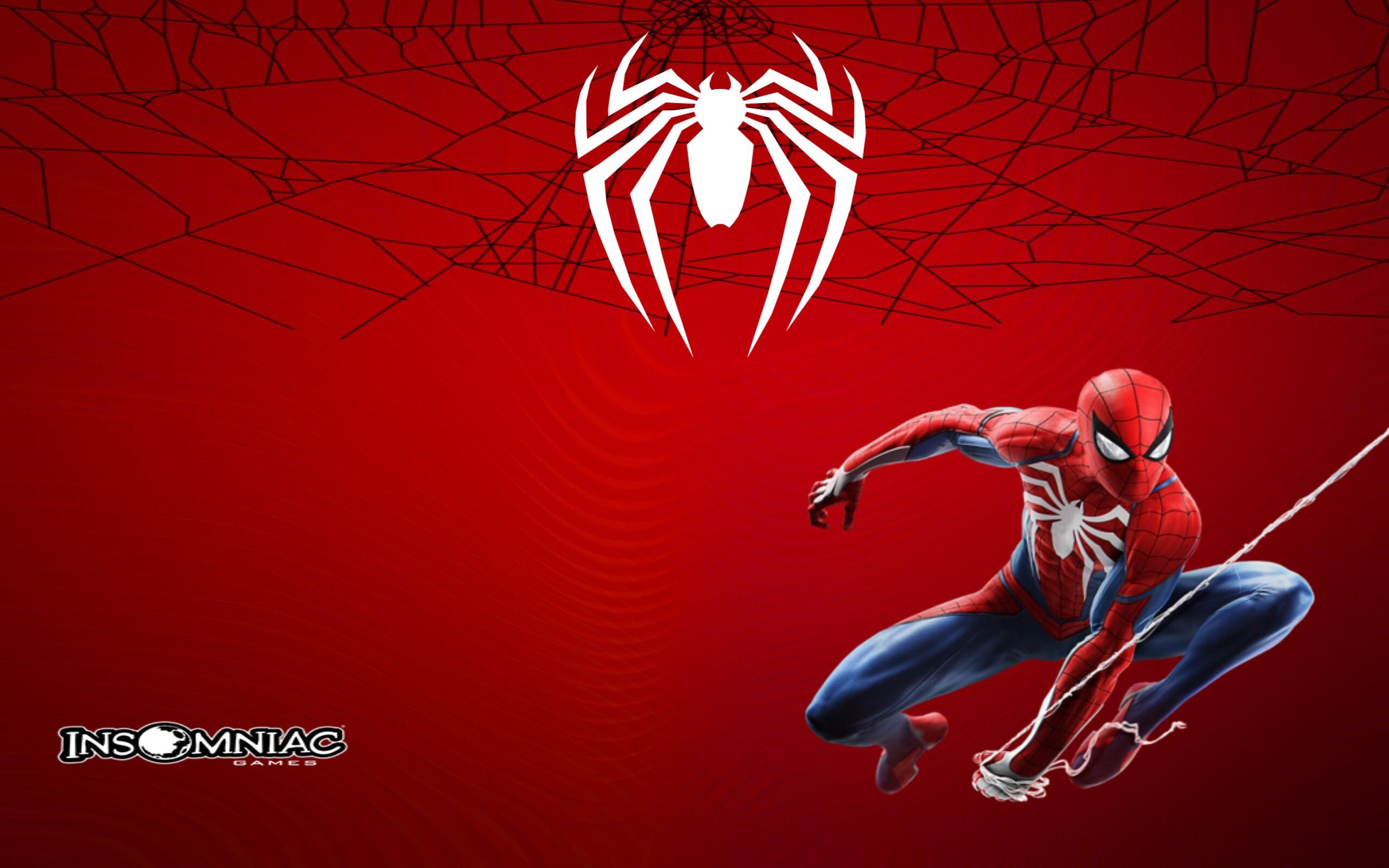For anyone who wants my custom made ps4 marvels Spider Man 2560x1600
