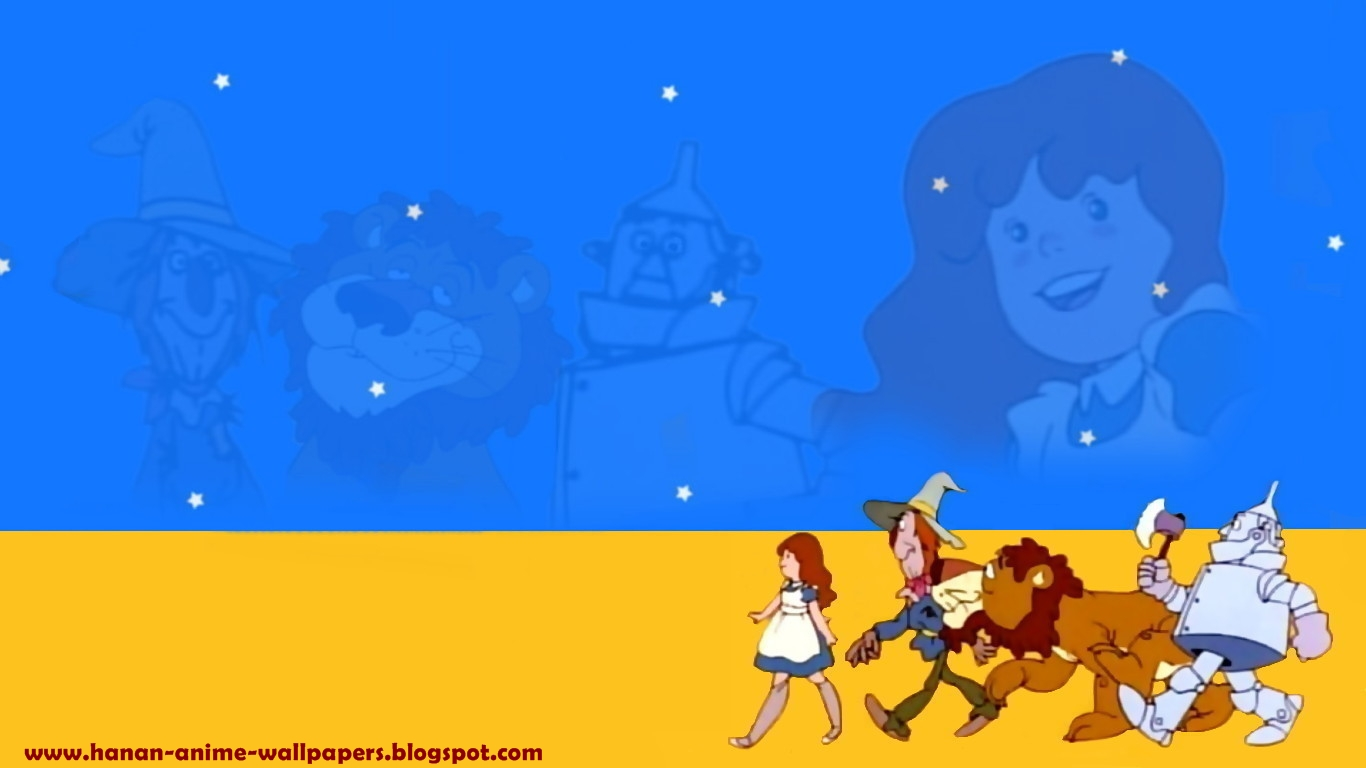 Free Download Anime Wallpapers The Wizard Of Oz 1366x768