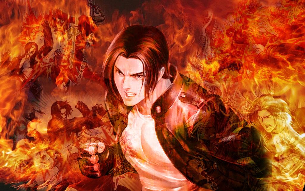 Kyo Kusanagi Ash Saga by KyoFlameAshHylden 1024x643