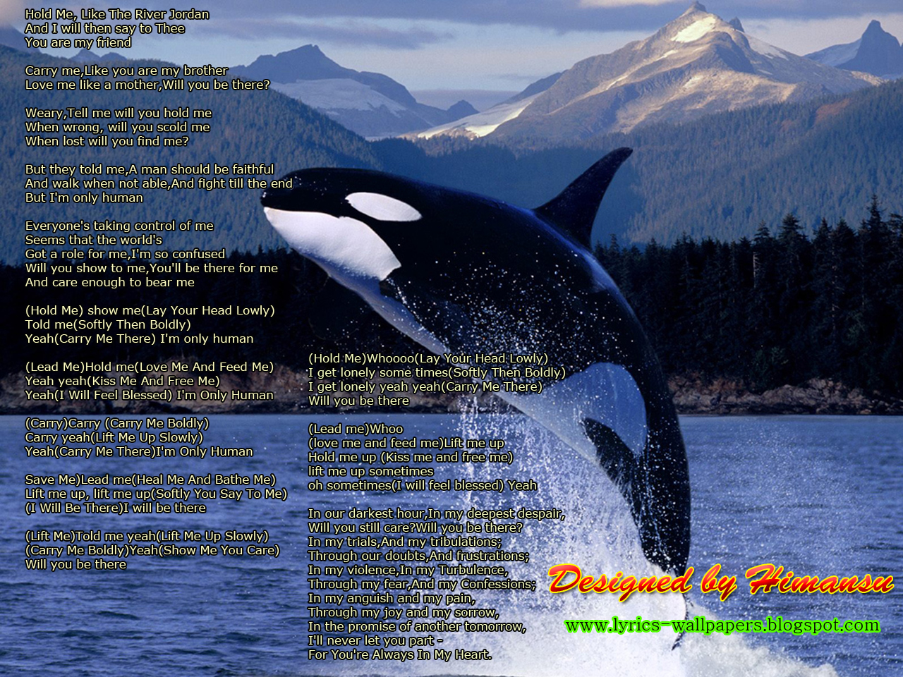 Free download Lyrics Wallpapers Michael Jackson Will You Be
