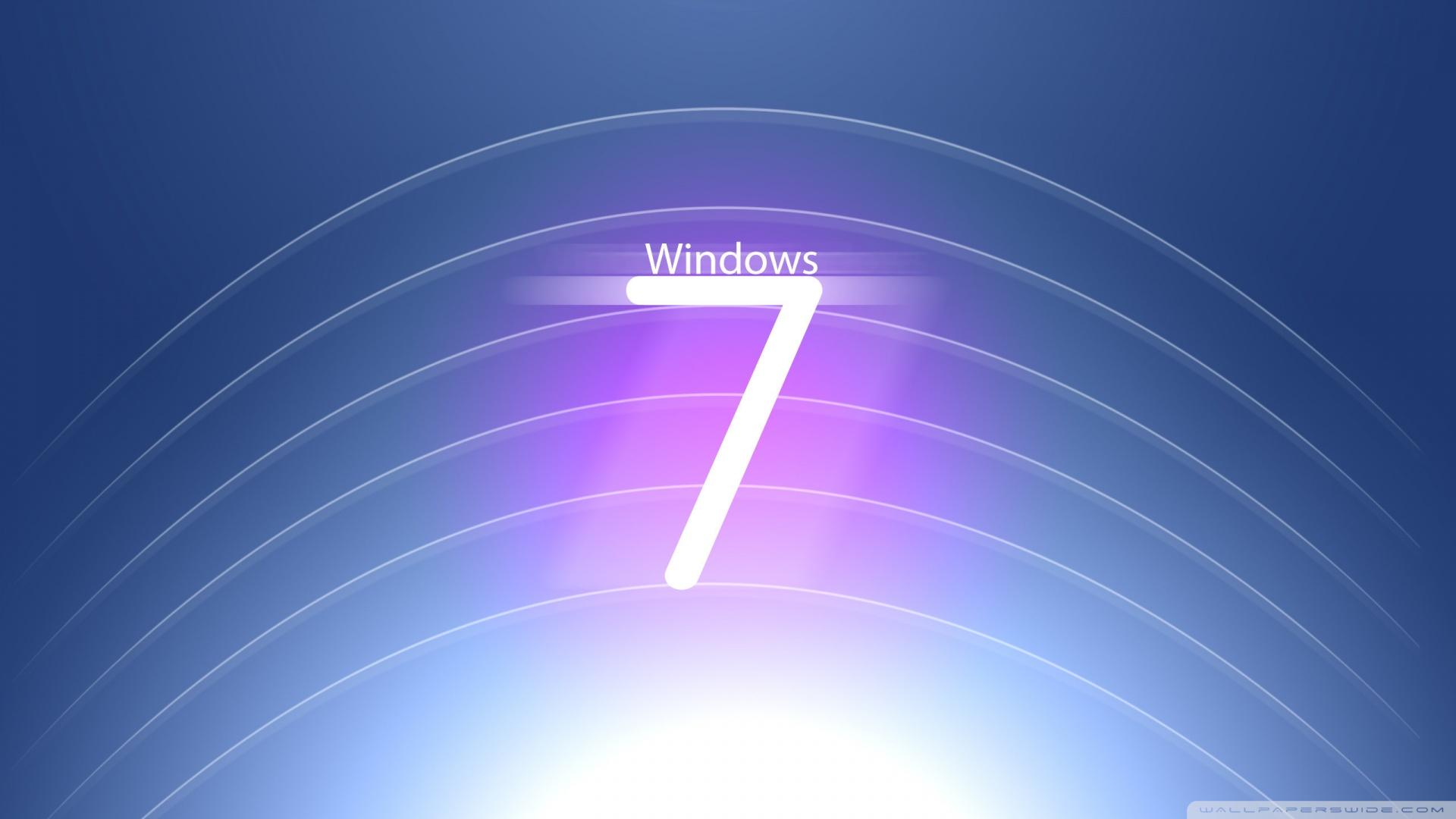 Hi Tech Windows 7 Logo Wallpaper 1920x1080 Hi Tech Windows 7 Logo 1920x1080
