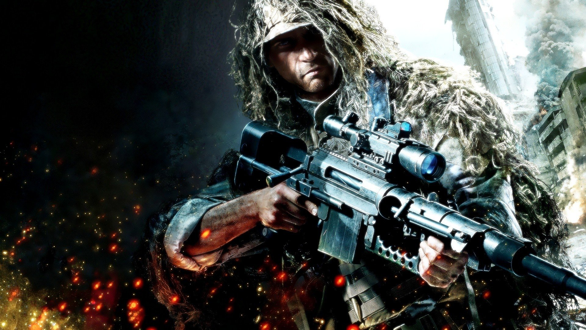 Free Download Army Military Snipers Buildings Sniper Rifles