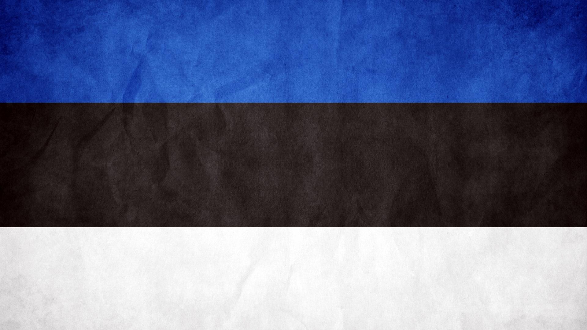 Estonia Flag HD wallpaper 1920x1080