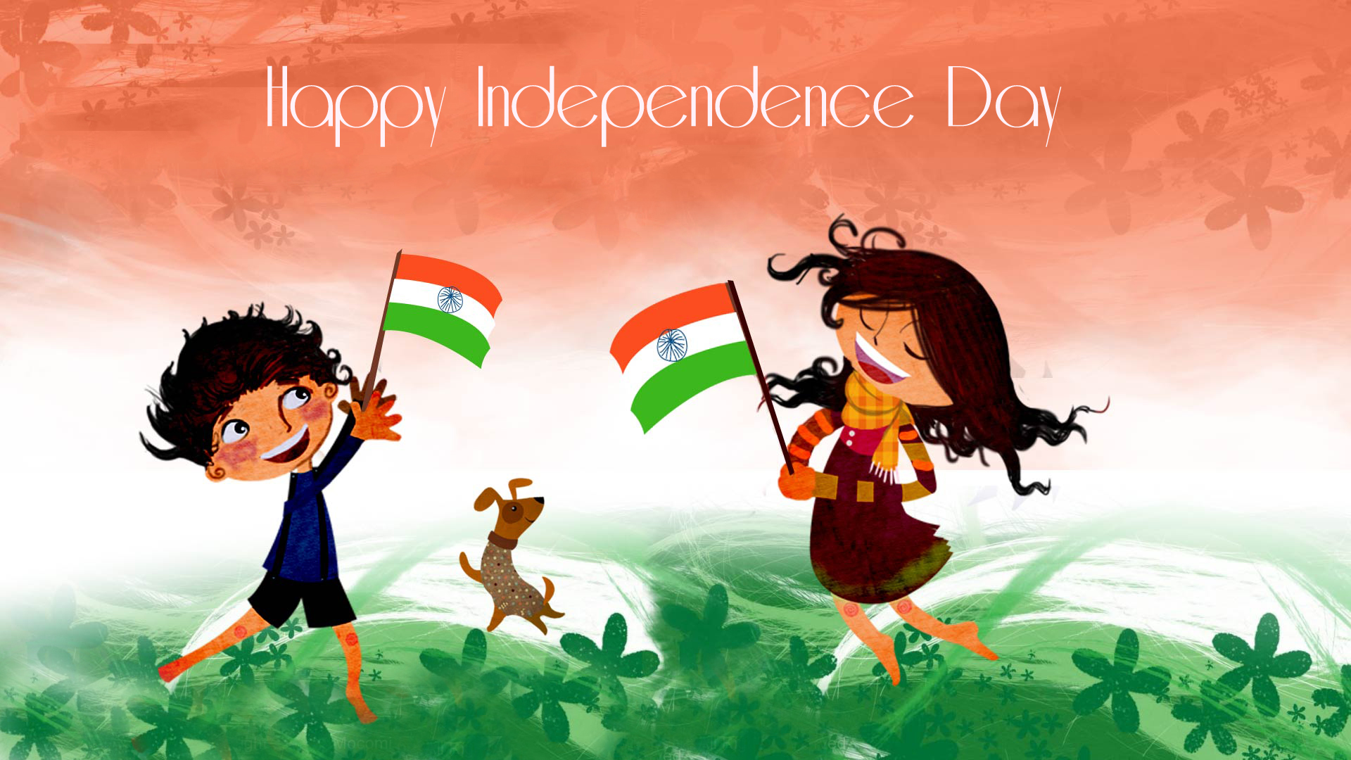 Happy Independence Day 2013 HD Wallpaper 1920x1080