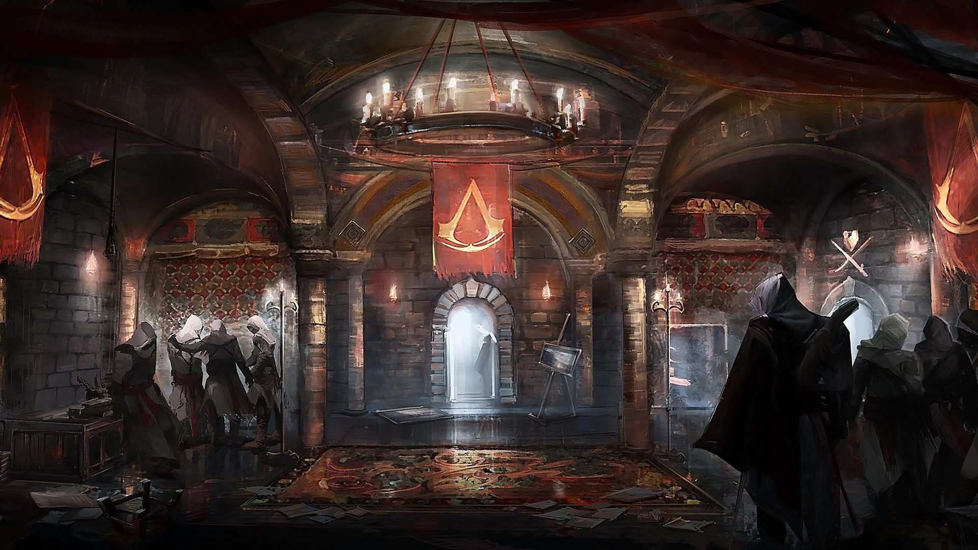 Assassins Creed Brotherhood wallpapers HD   24754 1920x1080