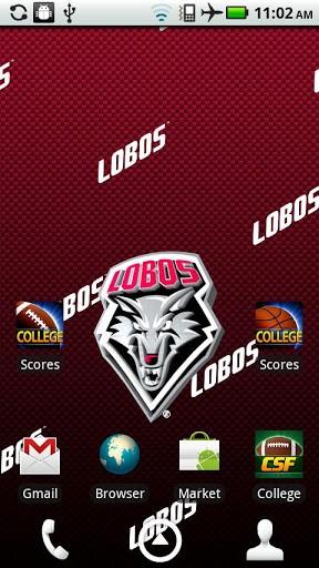 Unm Lobo Wallpaper New mexico live wallpaper hd 288x512